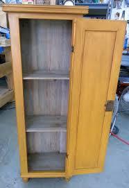 narrow amish cabinet