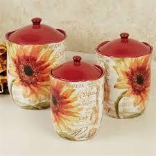 sunflower kitchen canisters 322 bästa bilderna om canister set på burkar keramik