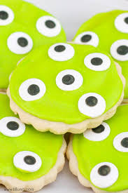 Sugar Cookie Halloween by Monster Eye Sugar Cookies