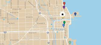 chicago map with attractions about conrad chicago map local attractions