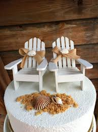 Beach Chair Umbrella Set Beach Chair Wedding Cake Topper Sadgururocks Com