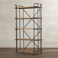 Industrial Looking Bookshelves by Industrial Bookcases Birch Lane