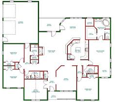 Open Floor Plans Homes Single Story Open Floor Plans Plan Single Level One Story