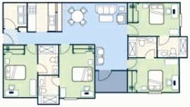 small 4 bed room floor plans u2013 house plans