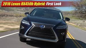 lexus hybrid suv rx450 first look 2016 lexus rx450h hybrid testdriven tv