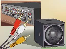 how to hook up surround sound with pictures wikihow