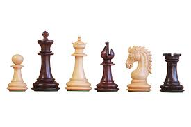 buy artisan sheffield rosewood chess pieces at official staunton