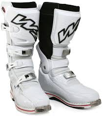 W2 Unadilla Motocross Boots White 100 Top Quality Used W2 Boots