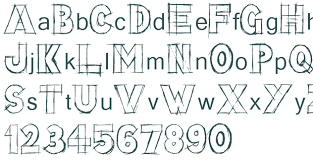lazy sketch font download free truetype