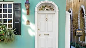 White Front Door What Does Your Front Door Color Say About You Southern Living
