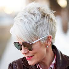 short cropped hairstyles for women over 50 25 gorgeous hairstyles for women over 50