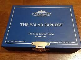 the polar express miniature hallmark keepsake ornament