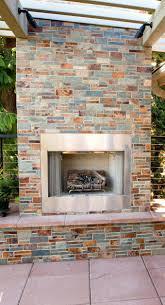 unique build outdoor fireplace garden pictures stone designs