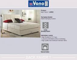 Vono Bed Frame Wts Vono Mattress 50 Discount