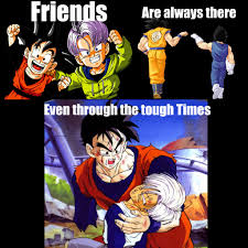 Dbz Gym Memes - friends dbz style by tapions flute on deviantart