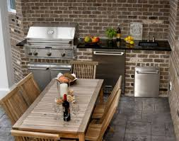 Kitchen Ideas Small Spaces Chic And Trendy Outdoor Kitchen Designs For Small Spaces Outdoor