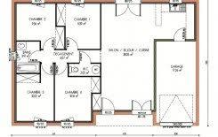 plan maison en l 4 chambres plan et photos maison 4 chambres de 95 m