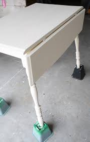 how to make a drop leaf table chalk painted drop leaf table the table was pretty wobbly which