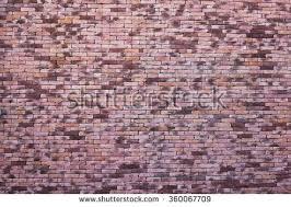 Pink Brick Wall Beautiful Purple Retro Style Colorful Brickwall Stock Photo
