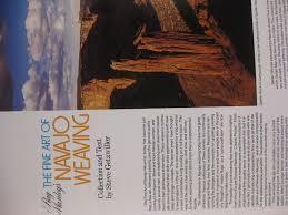 ray manley u0027s the fine art of navajo weaving steve getzwiller
