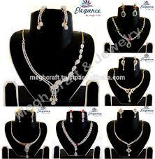 stone pendant necklace wholesale images Online american diamond jewellery indian artificial cz diamond jpg