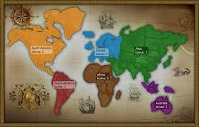 Classic Maps Classic Widescreen Map