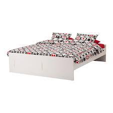 Brimnes Bed Frame Brimnes Bed Frame White Lönset 180x200 Cm Ikea