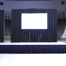 pipe and drape kits screen drape kit screen drape kit radius display products av iq