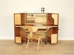 Vintage Desk Ideas Bureau Malle Années 50 Hidden Desk Tiny Office And Bureaus