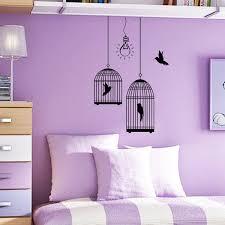 Home Interior Bird Cage Wonderful Purple Wood Glass Design Bedroom Paint Ideas
