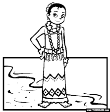 Ethnic Wear Online Coloring Pages Page 1 The Color Page