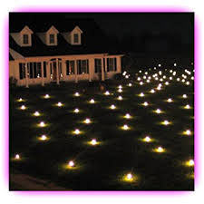 lawn lights illuminated outdoor decoration led warm