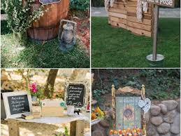 ideas 35 stunning backyard wedding decorations rustic