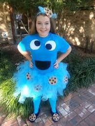 The Joy Of Fashion Halloween Cute Homemade Cookie Monster Costume by Cookie Monster Costume Halloween Costume Diy Pinterest