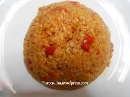 cuisiner le boulgour pilaf de boulgour turcculina la cuisine turque