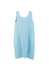 new ladies italian stripy linen sleeveless dress women lagenlook