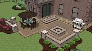 Backyard Paver Patio Designs Backyard Pavers Design Ideas