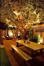 Outdoor Fence Lighting Ideas by 485 Best Outdoor Lighting Ideas Images On Pinterest Gardens