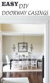 How To Lay Laminate Flooring In A Doorway Easy Diy Doorway Casings