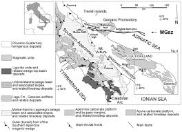 Map Of Puglia Italy by Late Quaternary Deformation Of The Southern Adriatic Foreland