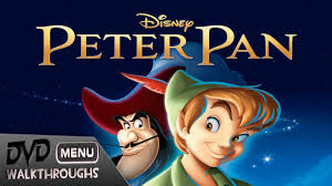 peter pan 1953 2013 dvd menu walkthrough