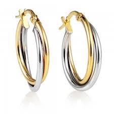 gold hoop earrings uk stunning gold drop stud earrings with free delivery swag uk