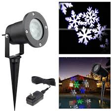 Outdoor Snow Light Projector by Holiday Lighting