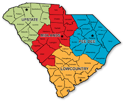 Us Regions Map Dhec Regional Map Scheart