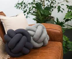 knot pillows the knot cushion is the must have accessory for your home couch or