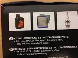 briggs u0026 stratton quantum engine service kit 992202 amazon co uk