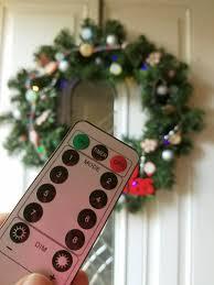 diy remote controlled christmas wreath meghan riley