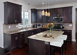 how to stain wood cabinets in kitchen which types of wood look best with espresso stain