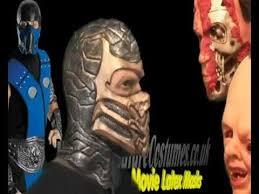 Mortal Kombat Scorpion Halloween Costume Mortal Kombat Scorpion Mask Movie Masks Www Signaturecostumes