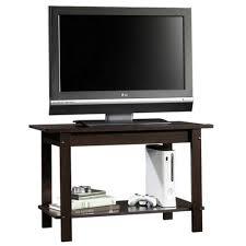 Sauder Tv Stands And Cabinets Sauder Beginnings Cinnamon Cherry Entertainment Center 413022